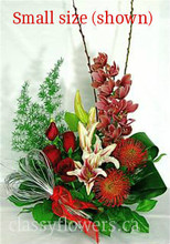 Small size flower arrangement