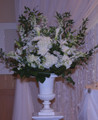 Wedding Ceremony Flower Arrangement In A Urn