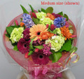 Just For You  Bouquet With Bright Flowers