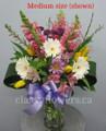 Spring Day Flower Arrangement In a Vase