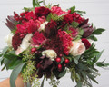 Bridal Bouquet Tropical Garden Style
