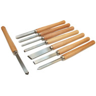 CHISEL SET 8 PC WOODTURNING