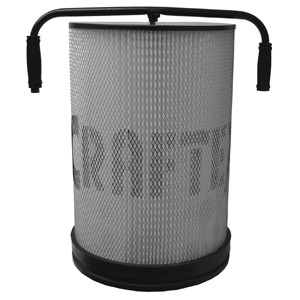 CANISTER FILTER 1MICRON 1HP DC
