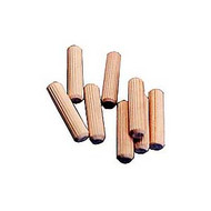 DOWELS FLUTED BIRCH 5/16IN. X 1 1/2IN. 250/P