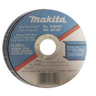 CUT OFF WHEEL THN 4 1/2IN. 5PCS MAKITA