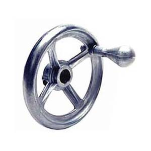 HAND WHEEL DIE CAST 4.5 OD X 0.625IN. BORE