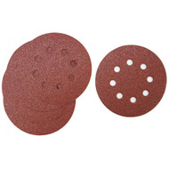 SANDING DISC 5IN. X8H 40G 5/PACK