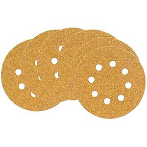 DISC SANDING 10/PK 5IN. X60G H AND L