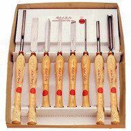 CHISEL TRNG 8PC SET BOWL AND SPNDL SORBY