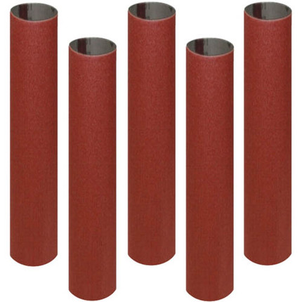 SANDING SLEEVE 5/8IN. X 5 1/2IN. X 150G 5PC PK