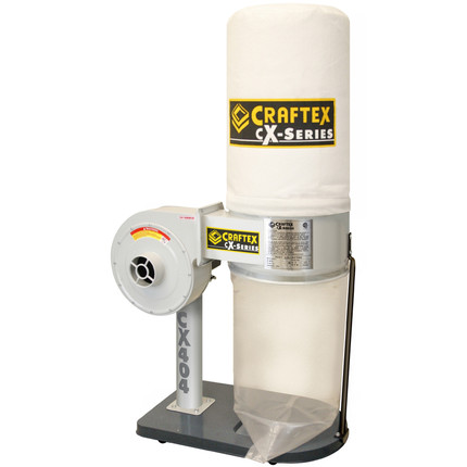 DUST COLLECTOR 1HP CRAFTEX CX SERIES CSA