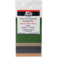 SANDING FILM 4IN. X 4IN. 5/PACK MICRO FINE