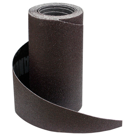 SANDING PAPER ROLL 100G 5 1/8IN. X 7FT 9IN.