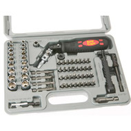 RATCHET SCREWDRIVER BIT AND SOCKET SET
