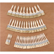 BRUSH BRISTLE BRUSH SET 50PCS
