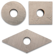 CARBIDE INSERT CUTTERS 3PCS