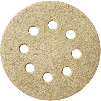 DISC SANDING 100/PK 180G 8H 5IN. H AND L