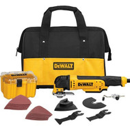 OSCILLATING MULTI TOOL KIT DEWALT