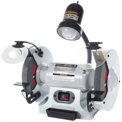 Buy Bench Grinder 8in W Light Csa Craftex Cx At Busy Bee