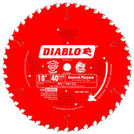 10IN. X 40T GENERAL PURPOSE BLADE DIABLO