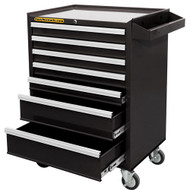 7 DRAWER ROLLING CABINET WITH BALL BEARI