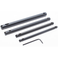 BORING BAR SET 4PC 1/4IN. 5/16IN. 3/8IN. 1/2IN.