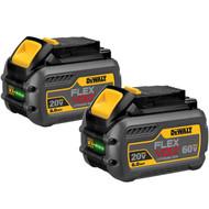 FLEX VOLT DEWALT 60V MAX MATTER 6AH TW