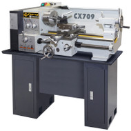 13IN. X 24IN. METAL LATHE WITH STAND CRAFTEX