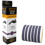 ABRASIVE KIT FINE GRIT 6000 6 BELTS