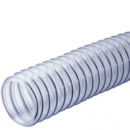 PVC HOSE 2 1/2IN. CLEAR 10 FEET