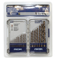 21PC COBALT DRILL BIT SET