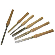 CHISEL WOOD TURNING 6 PC SET