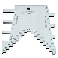 GAUGE 2 IN 1 ROUTER / TABLE SAW