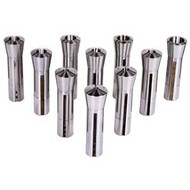COLLET R8 10 PCS SET 1/4IN. 7/8