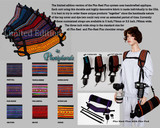 E-brochure about Limited Edition Appliqued Pho-Reel Plus Shoulder Camera Strap.