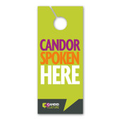 Door Tags For a Candid Workplace  - Set of 10