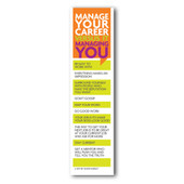 Career Management Bookmark - Set of 10