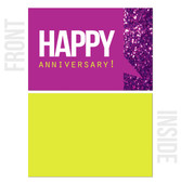 Blank Inside - 10-Pack Happy Work Anniversary Cards