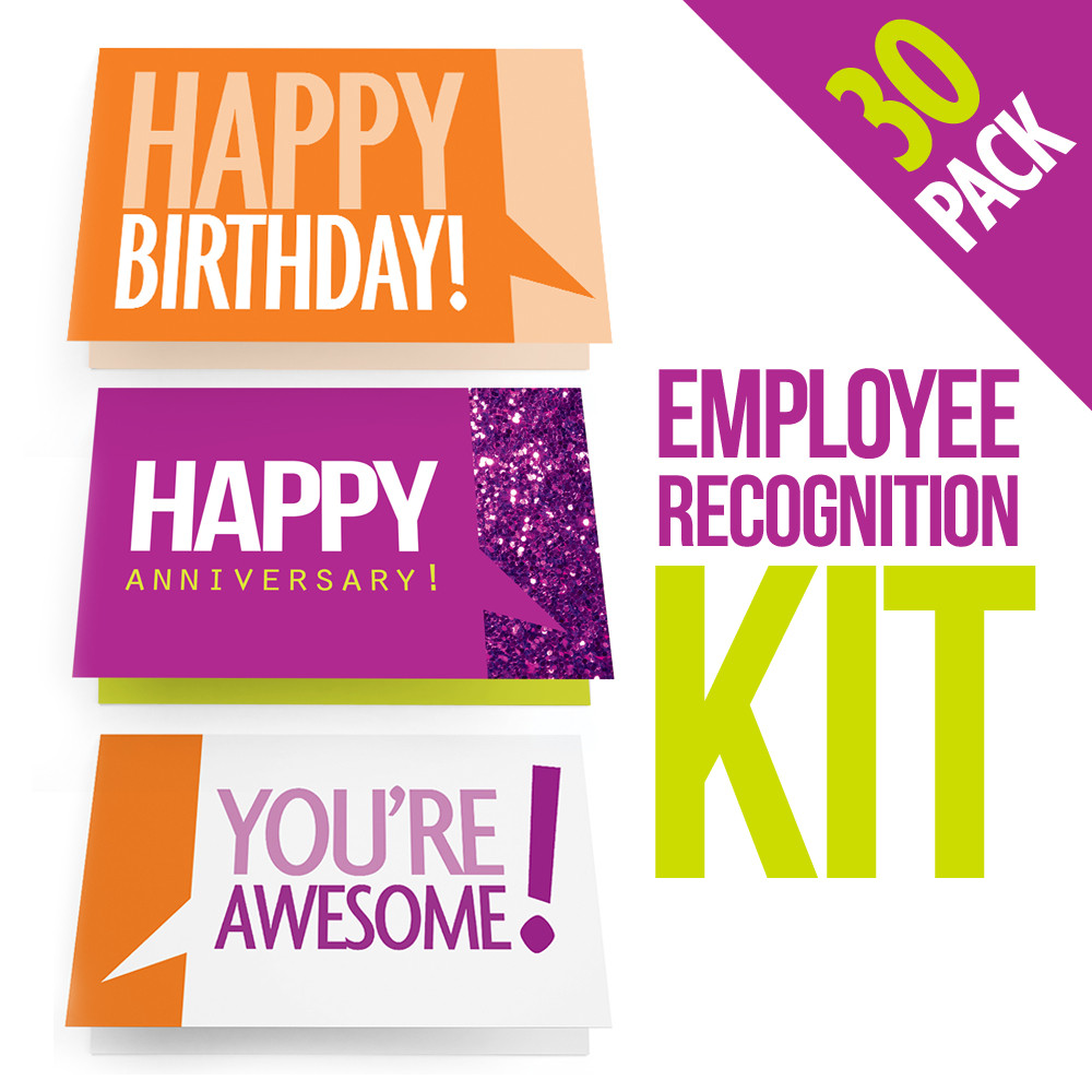 employee recognition cards three 10 packs candid culture press