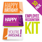 Employee Recognition Cards - Three 10-Packs