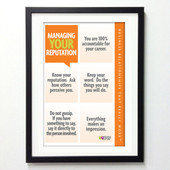 Office Posters - Managing Your Reputation