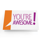 "Business Greeting Cards ""You're Awesome"" - Pack of 10"