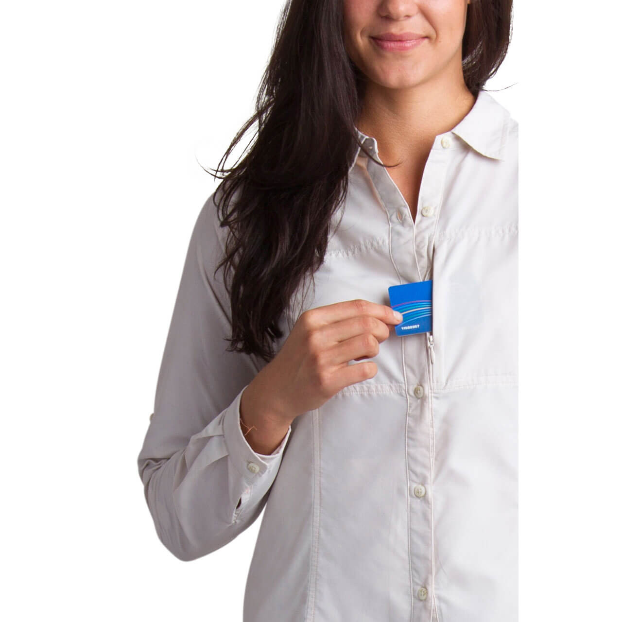 Front Zip Security Pocket