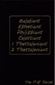 Galatians, Ephesians, Philippians, Colossians, I and 2 Thessalonians: Journible - The 17:18 Series