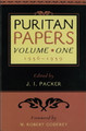 Puritan Papers, Vol. 1: 1956-1959 (Packer, ed.)