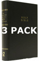 The Reformation Heritage KJV Study Bible - Premium Hardcover -- Black (3 Pack)