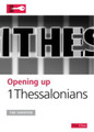 Opening up 1 Thessalonians (Shenton)