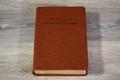 Biblia de Estudio Herencia Reformada - Simil piel (café)