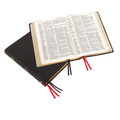 Large Print Westminster Reference Bible - Calfskin Leather, Black