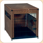 Wicker Pet Residence--Large & XL